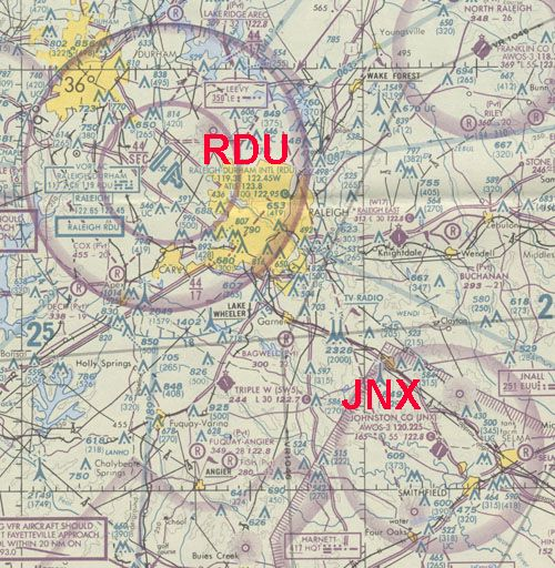 Flight Map of JNX