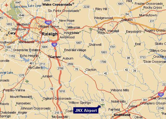 Regional Map of JNX