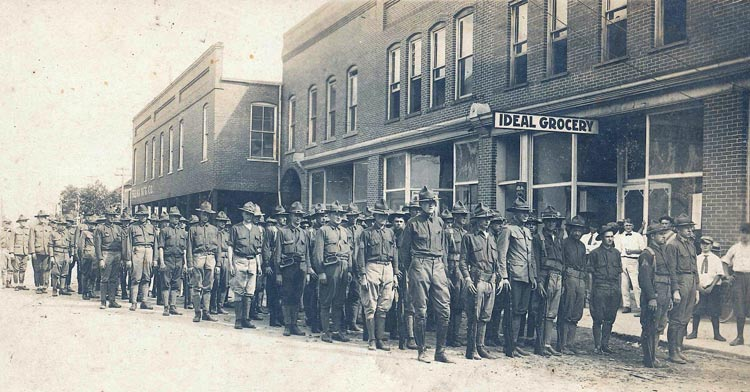 Johnston County WWI Enlistees - 1917