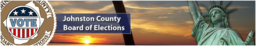 Welcome to the Johnston County North Carolina Board of Elections Website