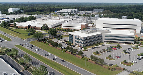 Grifols Facility in Clayton, NC