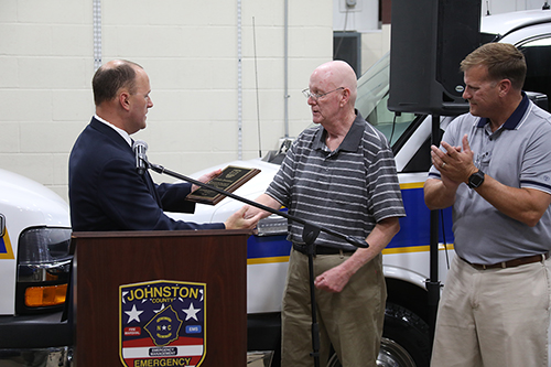 EMT Charles Strickland Retires from Johnston County Emergency Services with 43 Years of Service to the EMS System