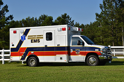 Johnston County Emergency Services Received Delivery of Two New Ambulances