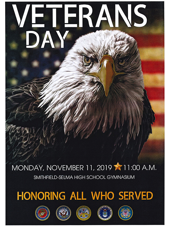 Veterans Day November 11, 2019