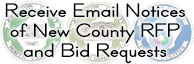 Sign Up to Receive Email Notifications of New RFP and Bid Requests