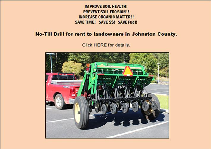 No-Till Drill Information